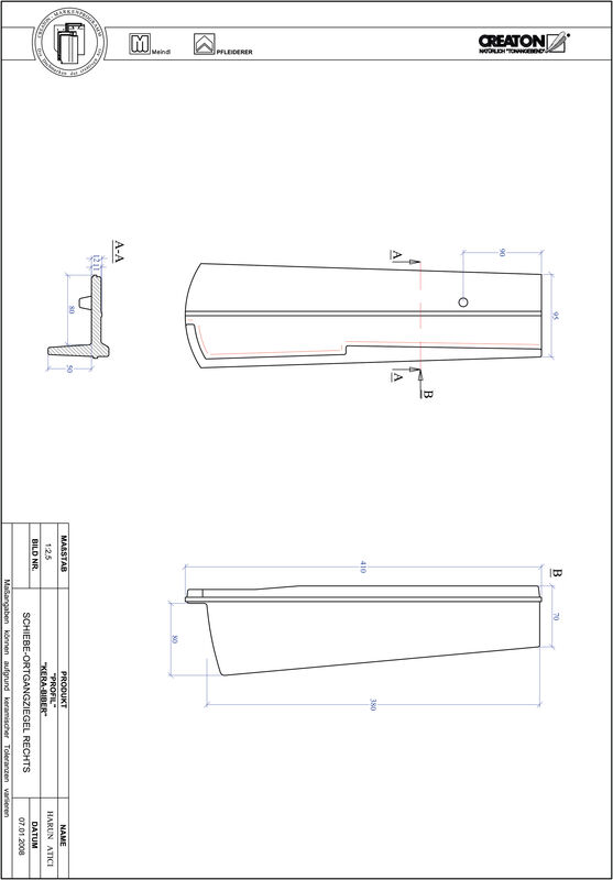 Plik CAD produktu PROFIL krój segmentowy KERA-SAECHS-18-CM-OGR