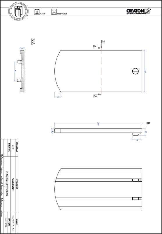 Plik CAD produktu AMBIENTE krój segmentowy SEG-FLUEFTZ