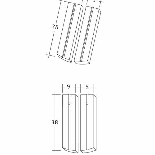 Rysunek techniczny produktu PROFIL Kera-Saechs-18cm-1-2