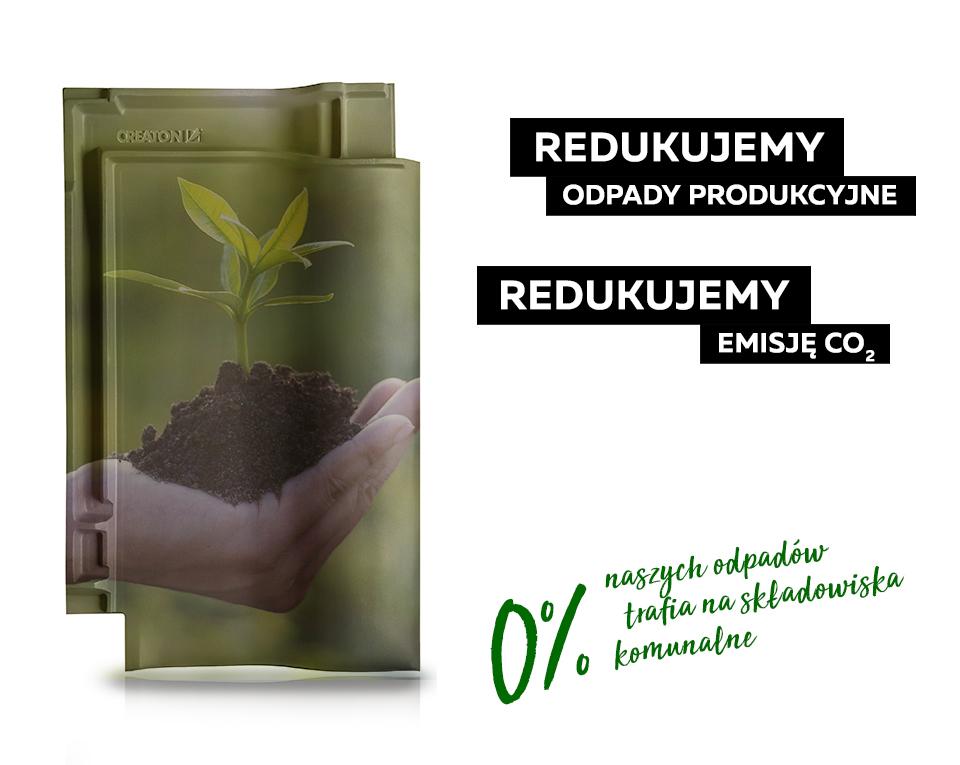 0% odpadów z zakładów CREATON Polska trafia na składowiska komunalne