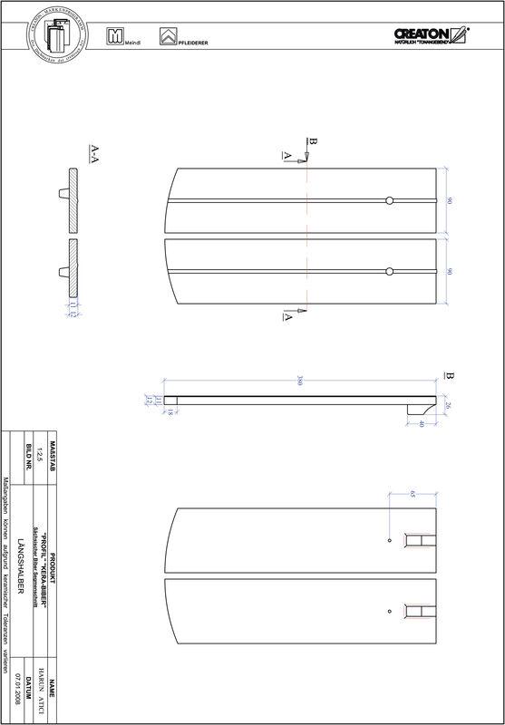 Plik CAD produktu PROFIL krój segmentowy KERA-SAECHS-18-CM-LH