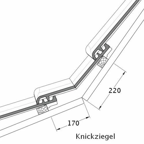 Rysunek techniczny produktu MAGNUM KNZ