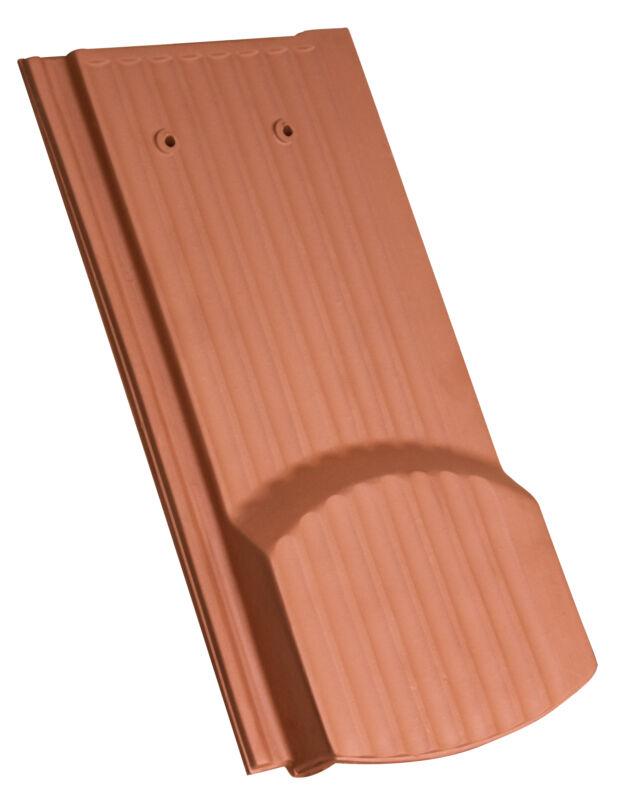 Karpiówka zakładkowa powierzchnia pofalowana krój segmentowy dachówka wentylacyjna