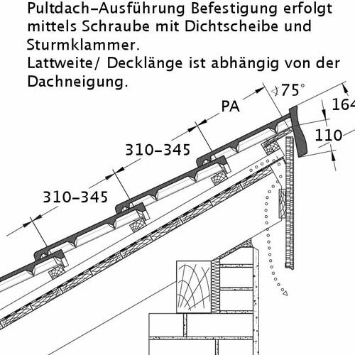 Rysunek techniczny produktu HEIDELBERG PDA PROFILIERTE-BDS