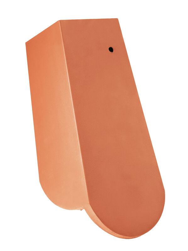 KLASSIK krój zaokrąglony dachówka boczna prawa 3/4 z długim okapnikiem ok. 11 cm