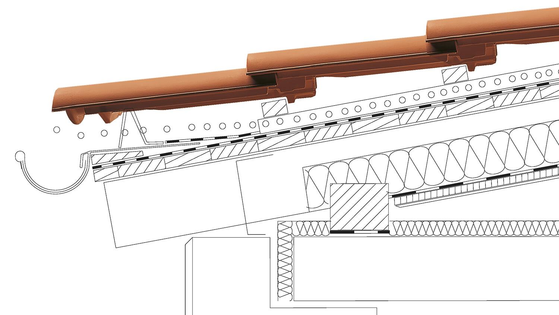 Dachówki ceramiczne na dachy o nachyleniu połaci od 7° - 1