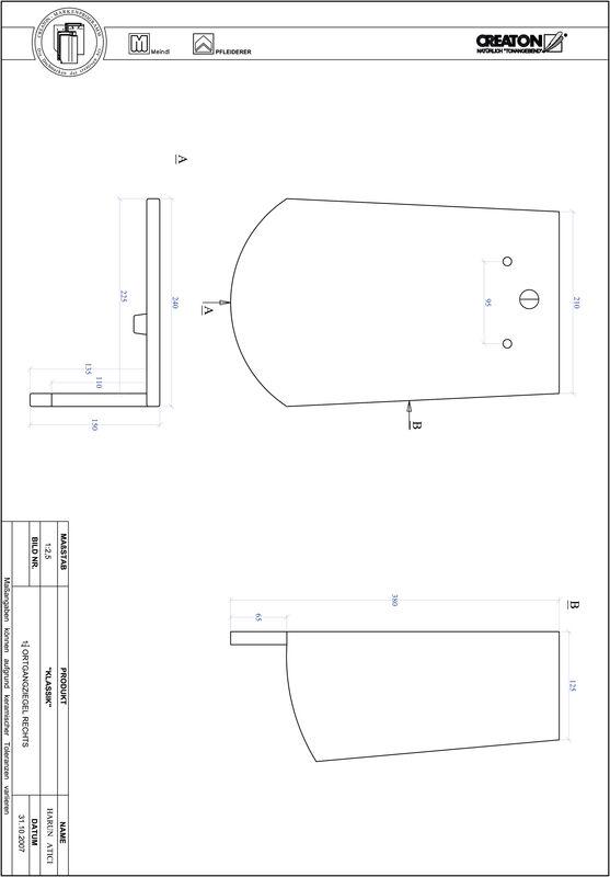 Plik CAD produktu KLASSIK krój zaokrąglony RUND-OGR-1-1-4