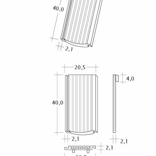 Rysunek techniczny produktu PROFIL Strangfalz-gewellt-1-1