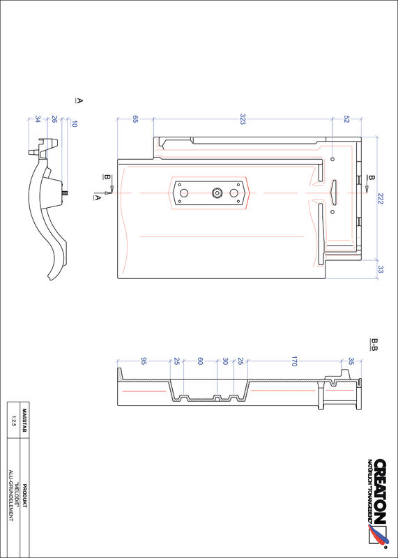 Plik CAD produktu MELODIE aluminium grunt. GRUNDALU