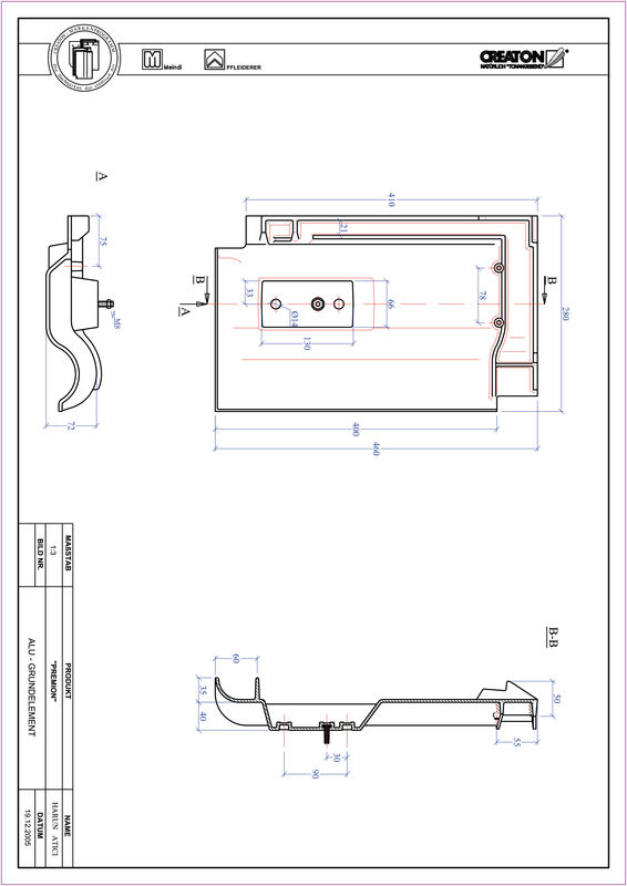 Plik CAD produktu PREMION aluminium grunt. GRUNDALU