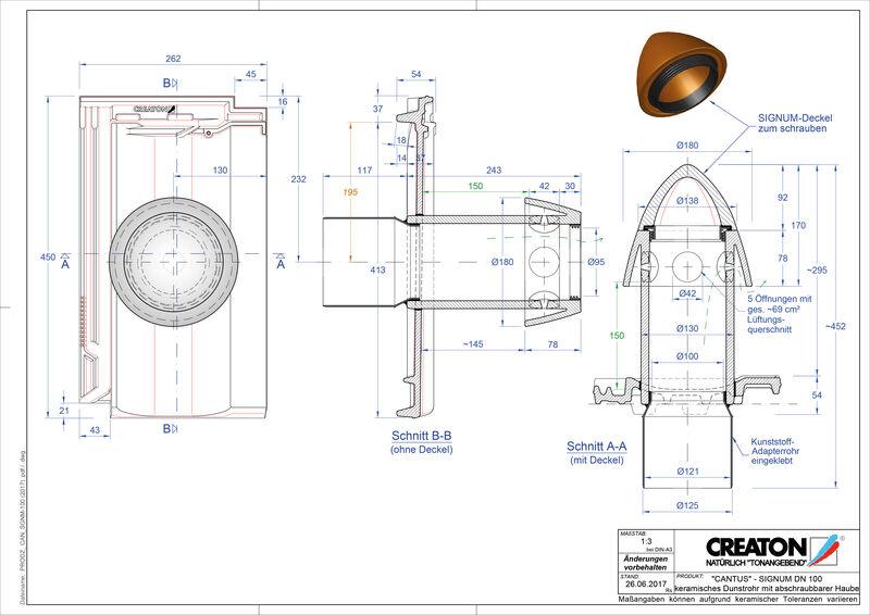Plik CAD produktu CANTUS Signum 100