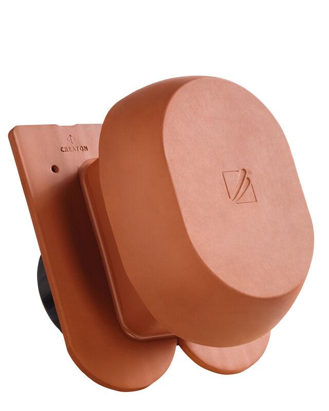 KLASSIK krój zaokrąglony SIGNUM ceramiczny kominek wentylacyjny DN 200 mm z adapterem