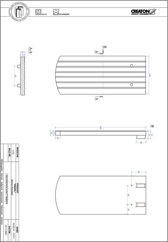 Plik CAD produktu PROFIL krój segmentowy BKBI-1-1