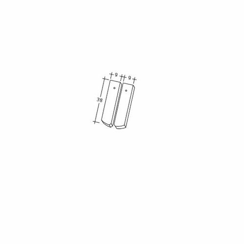 Rysunek techniczny produktu AMBIENTE Seg-Laengshalber
