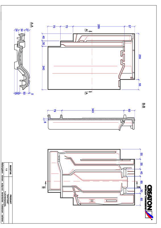 Plik CAD produktu SINFONIE dachówka połaciowa FLA