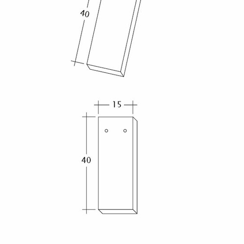 Rysunek techniczny produktu AMBIENTE Ger-3-4