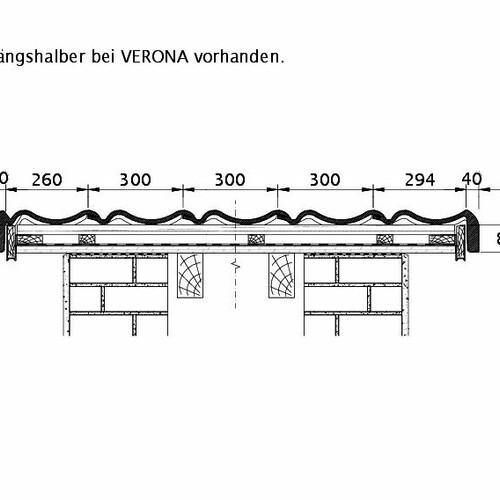 Rysunek techniczny produktu VERONA ORL PROFILIERTE-BDS