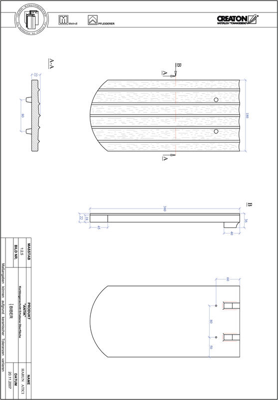 Plik CAD produktu ANTIK krój łukowy KORB-ERHO