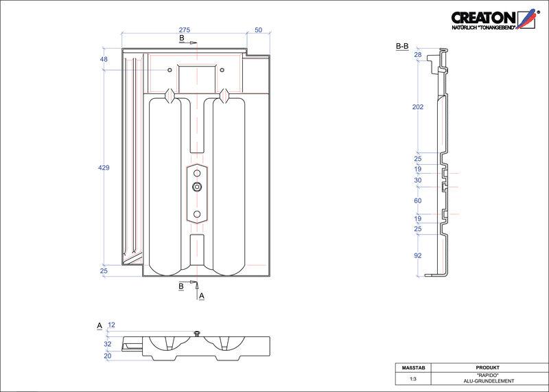 Plik CAD produktu RAPIDO aluminium grunt. GRUNDALU