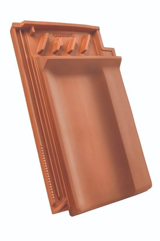 KODA dachówka kalenicowa wentylacyjna boczna prawa