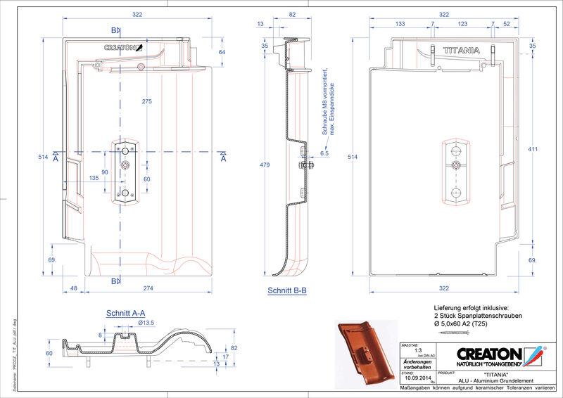 Plik CAD produktu TITANIA aluminium grunt. GRUNDALU