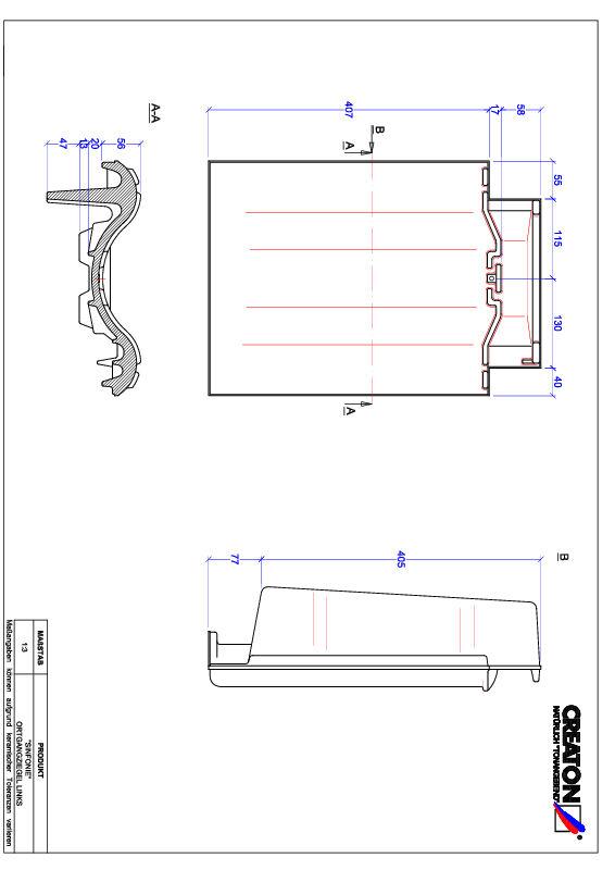 Plik CAD produktu SINFONIE dachówka boczna lewa OGL