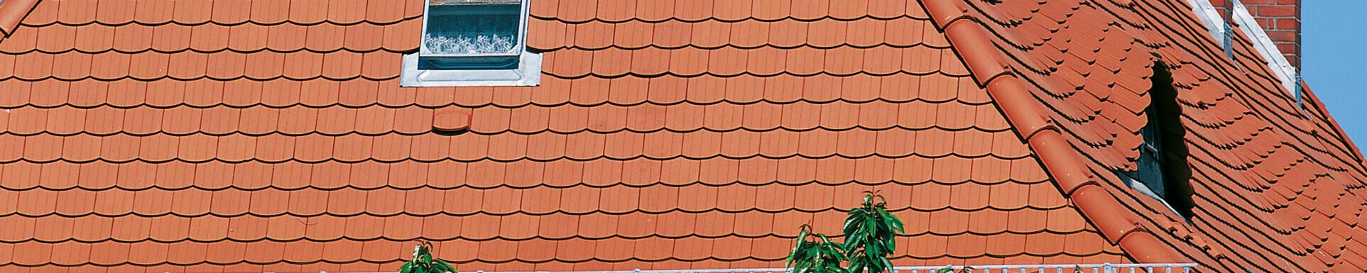 Dachówka karpiówka PROFIL powierzchnia profilowana z 3 prążkami