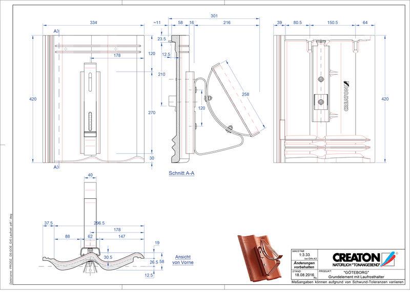 Plik CAD produktu GÖTEBORG dach. podst. Laufrost