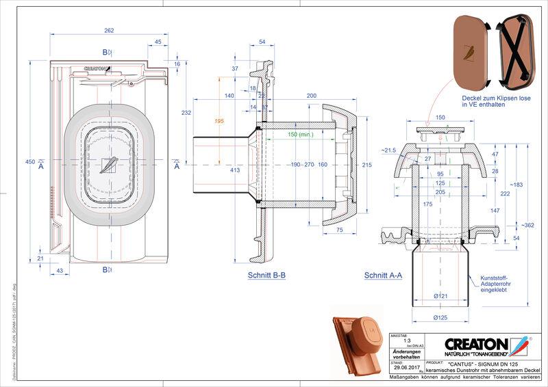 Plik CAD produktu CANTUS Signum 125