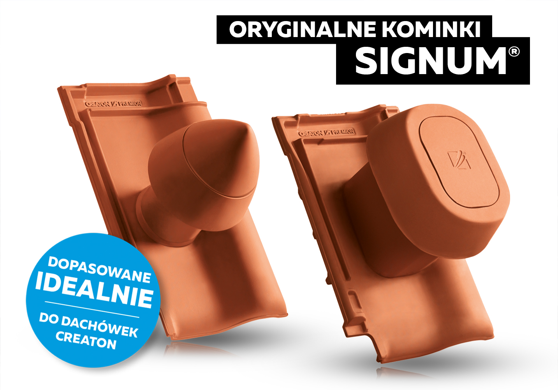 Kominki ceramiczne SIGNUM marki CREATON