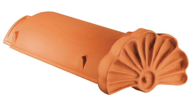 WER gąsior początkowy ozdobny z muszlą ceramiczny PZ