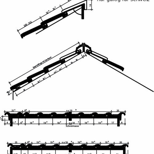 Rysunek techniczny produktu HARMONIE Szwajcaria HARMONIE