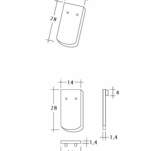 Rysunek techniczny produktu MANUFAKTUR TUBI-1-1