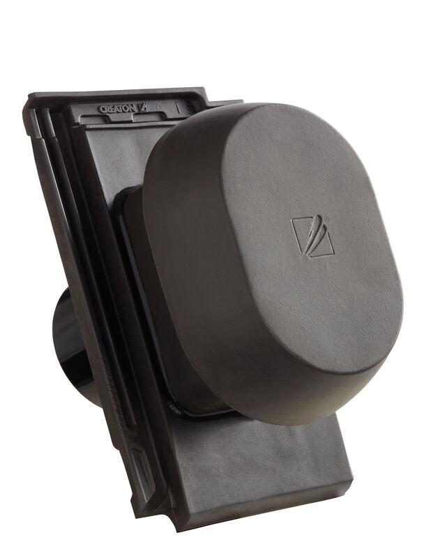 VIS SIGNUM ceramiczny kominek wentylacyjny DN 150/160 mm z adapterem