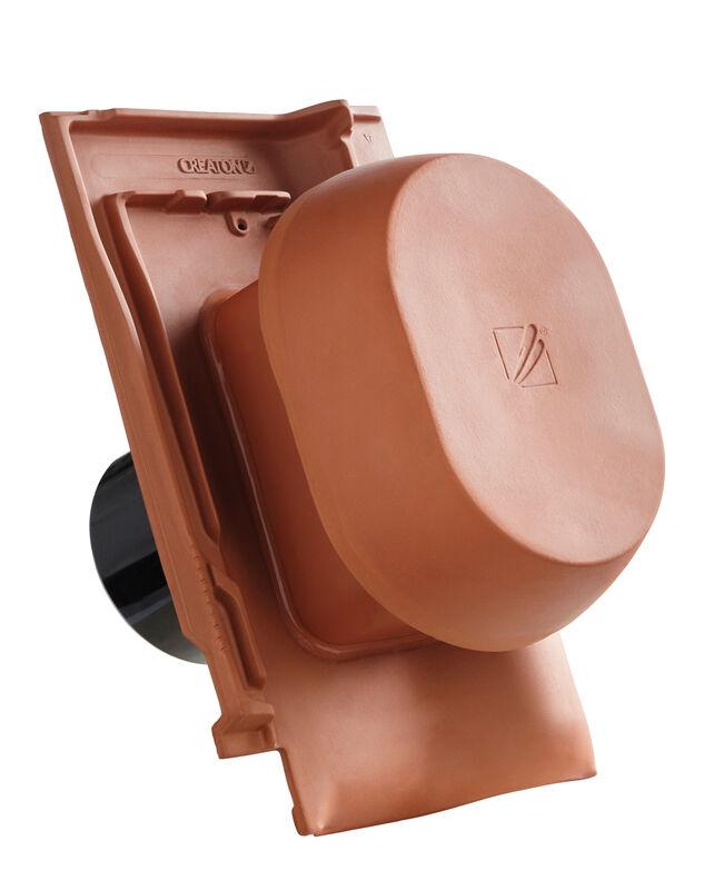 FUT SIGNUM ceramiczny kominek wentylacyjny DN 150/160 mm z adapterem