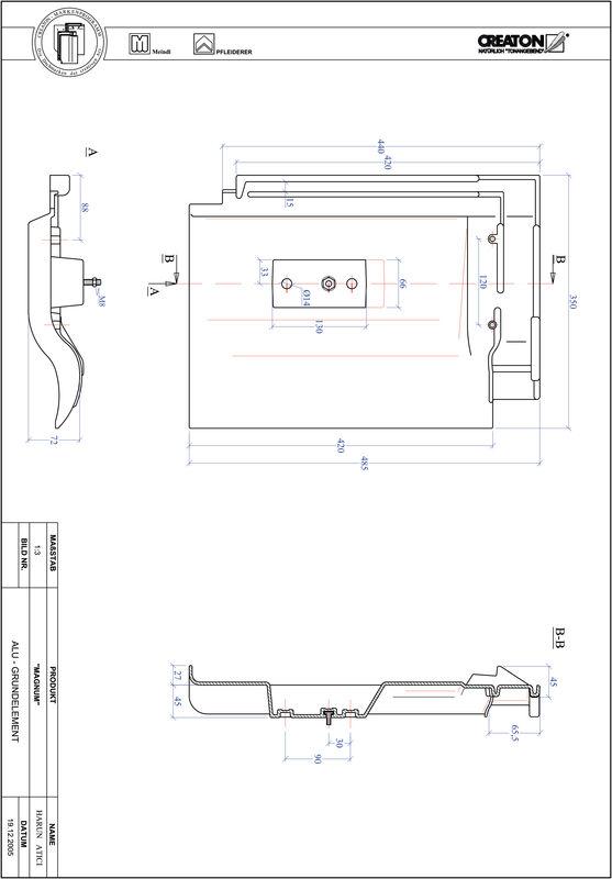 Plik CAD produktu MAGNUM aluminium grunt. GRUNDALU