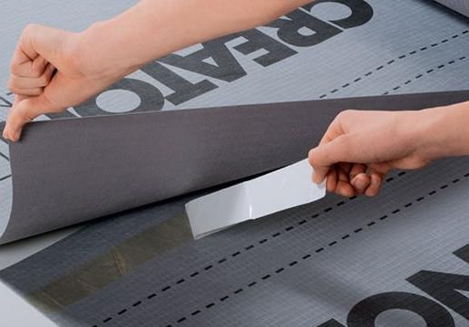 Membrana zabezpiecza także przed kontaktem z wodą zastosowane w konstrukcji dachu