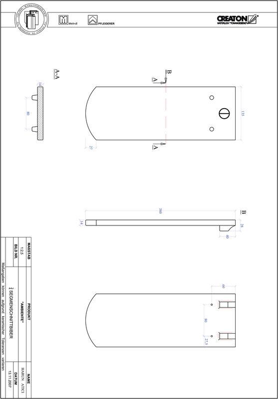Plik CAD produktu AMBIENTE krój segmentowy SEG-3-4
