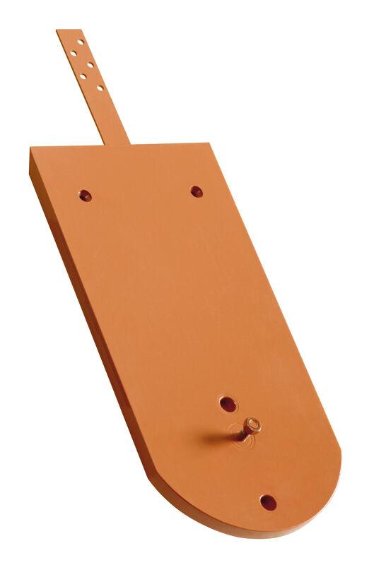 KLASSIK przekrój zaokrąglony dachówka podstawowa aluminiowa