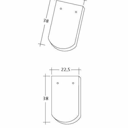 Rysunek techniczny produktu KLASSIK 1-1-4