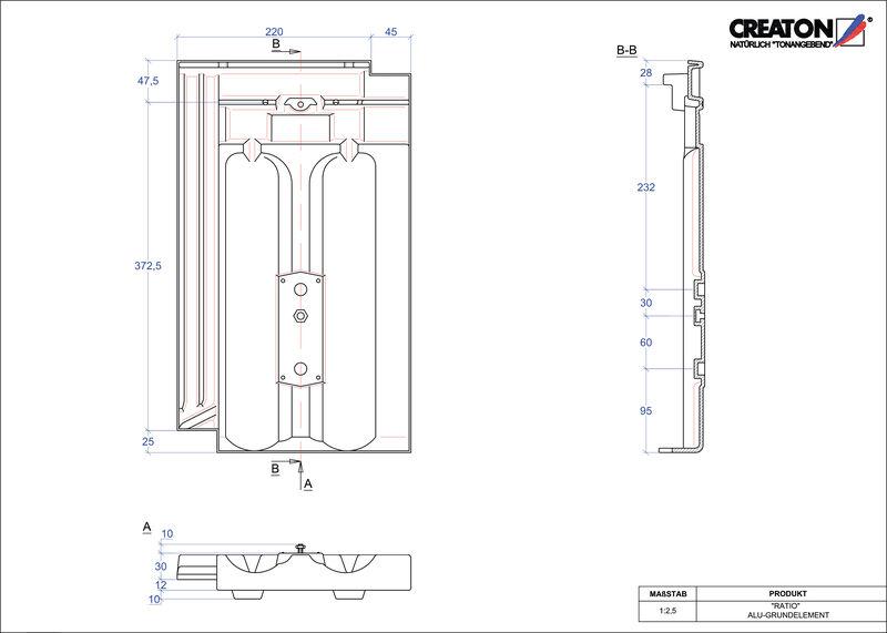 Plik CAD produktu RATIO aluminium grunt. GRUNDALU