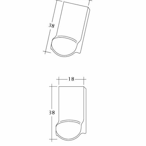 Rysunek techniczny produktu KLASSIK LUEFTZ