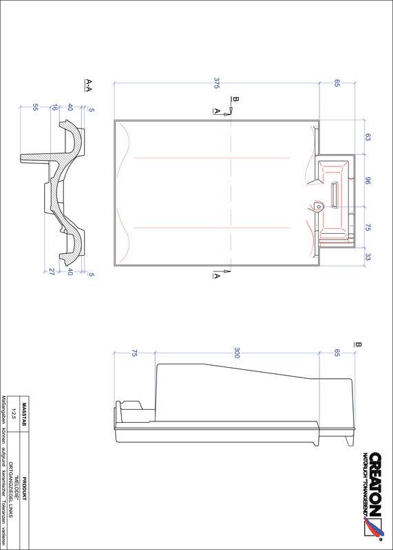 Plik CAD produktu MELODIE dachówka boczna lewa OGL