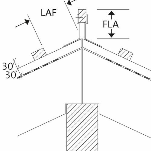 Rysunek techniczny produktu wszystkie modele LAF-FLA