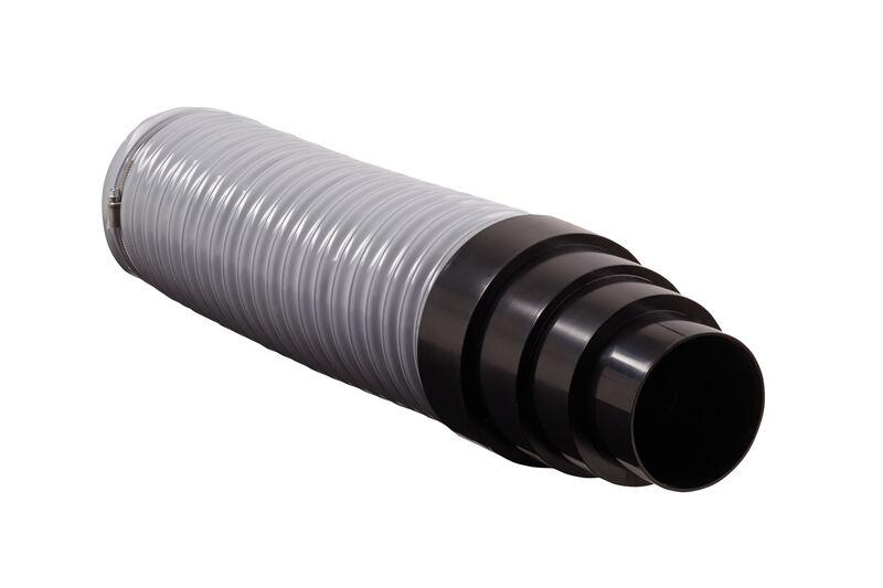 Przyłącze wężowe do kominka wentylacyjnego Ø 125 mm