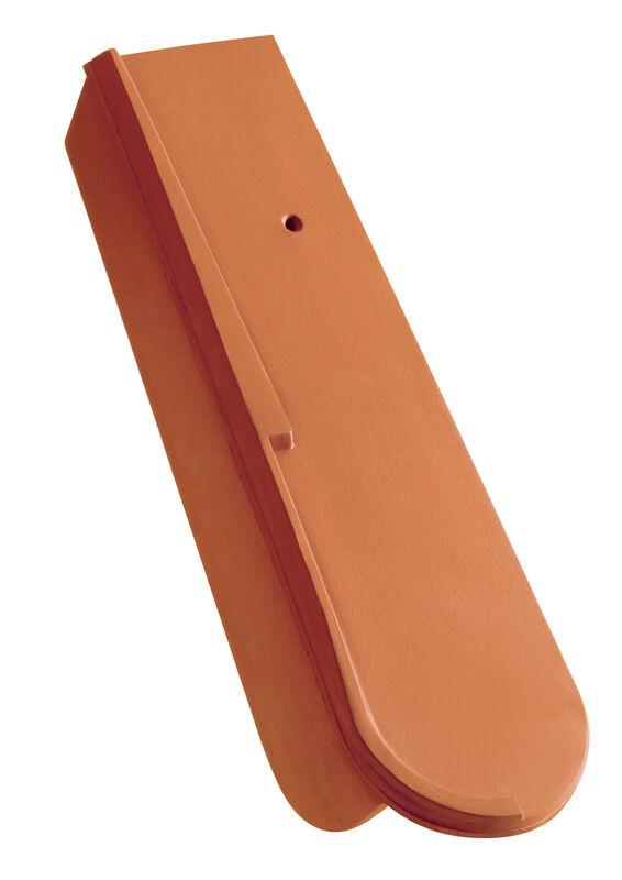 Dachówka boczna prawa przesuwna z krótkim okapnikiem ok. 5 cm