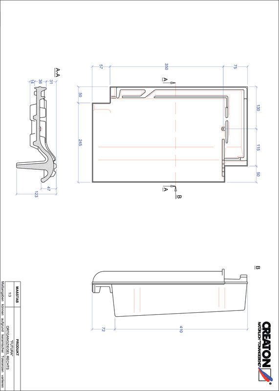 Plik CAD produktu FUTURA dachówka boczna prawa OGR