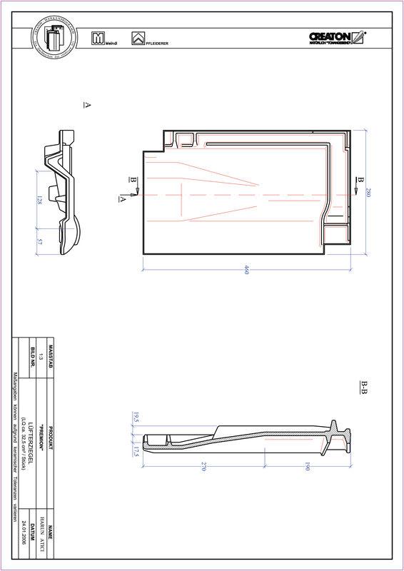 Plik CAD produktu PREMION dachówka wentylacyjna LUEFTZ