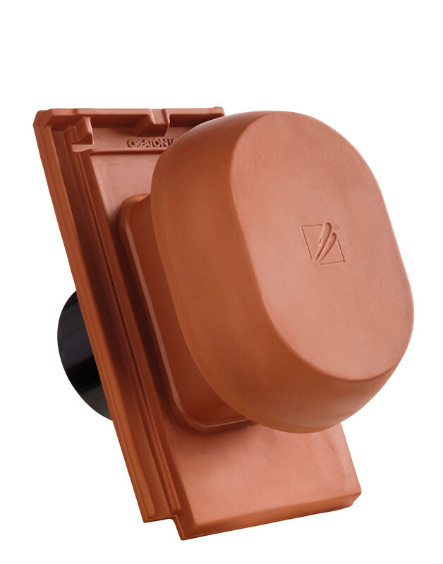 DOM SIGNUM ceramiczny kominek wentylacyjny DN 150/160 mm z adapterem