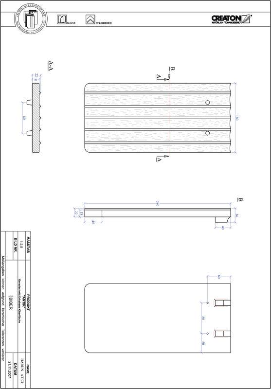 Plik CAD produktu ANTIK krój prosty GER-ERHO